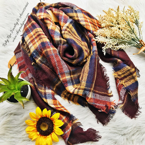 The Pecan Blanket Scarf