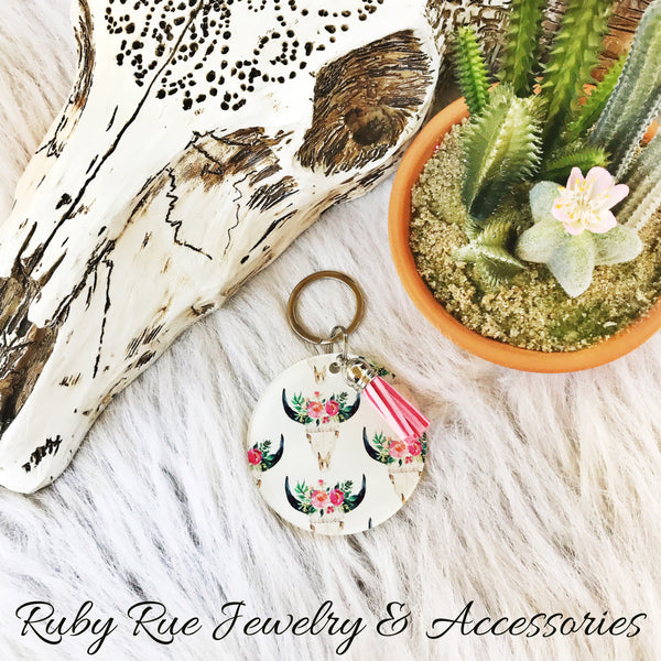 Western Keychains - Ruby Rue Jewelry & Accessories