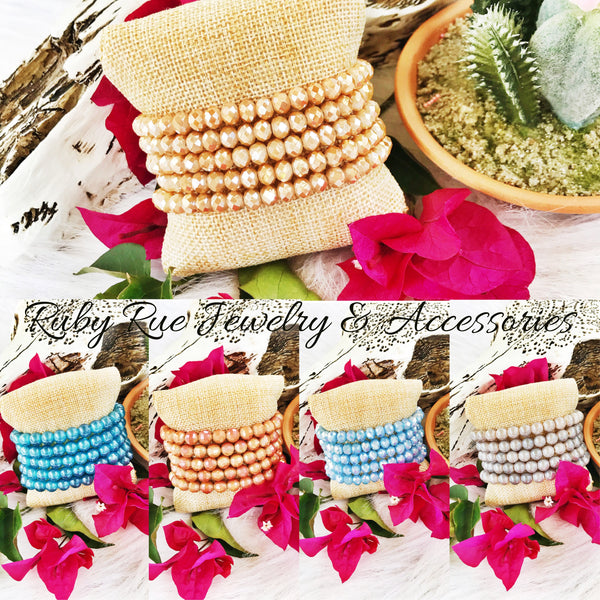 Sugar Stacks Beachy Wave Set - Ruby Rue Jewelry & Accessories