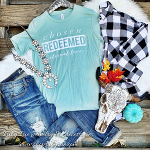 Redeemed Tee - Ruby Rue Jewelry & Accessories
