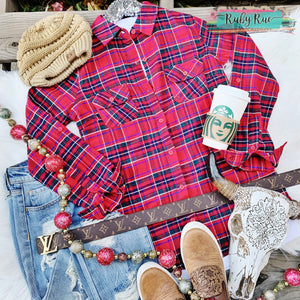 Christmas Morning Flannel - Ruby Rue Jewelry & Accessories
