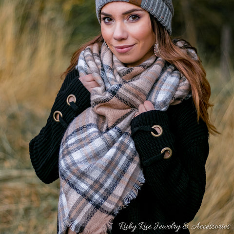Into the Woods Blanket Scarf - Ruby Rue Jewelry & Accessories