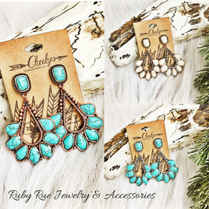 Cheeky's Dangly Earrings - Ruby Rue Jewelry & Accessories