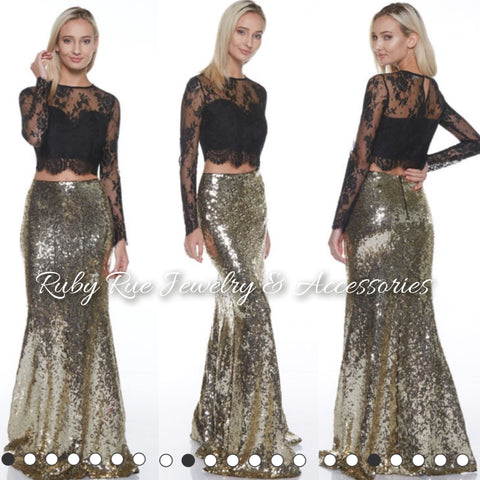 Miss Goldie Maxi Skirt - Ruby Rue Jewelry & Accessories