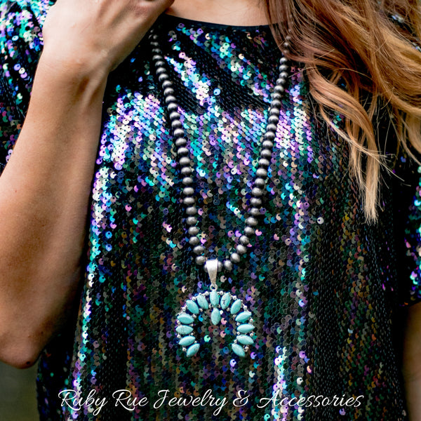 Big Dreams Sequin Top - Ruby Rue Jewelry & Accessories