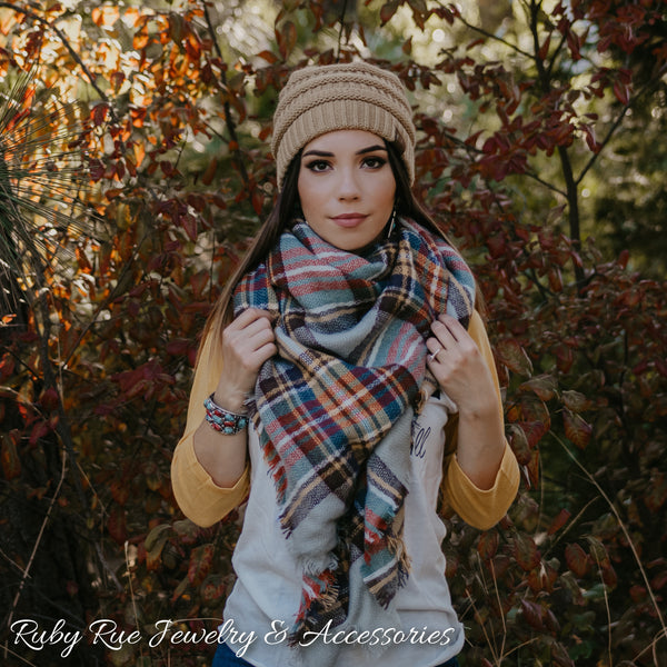 The Maple Blanket Scarf - Ruby Rue Jewelry & Accessories