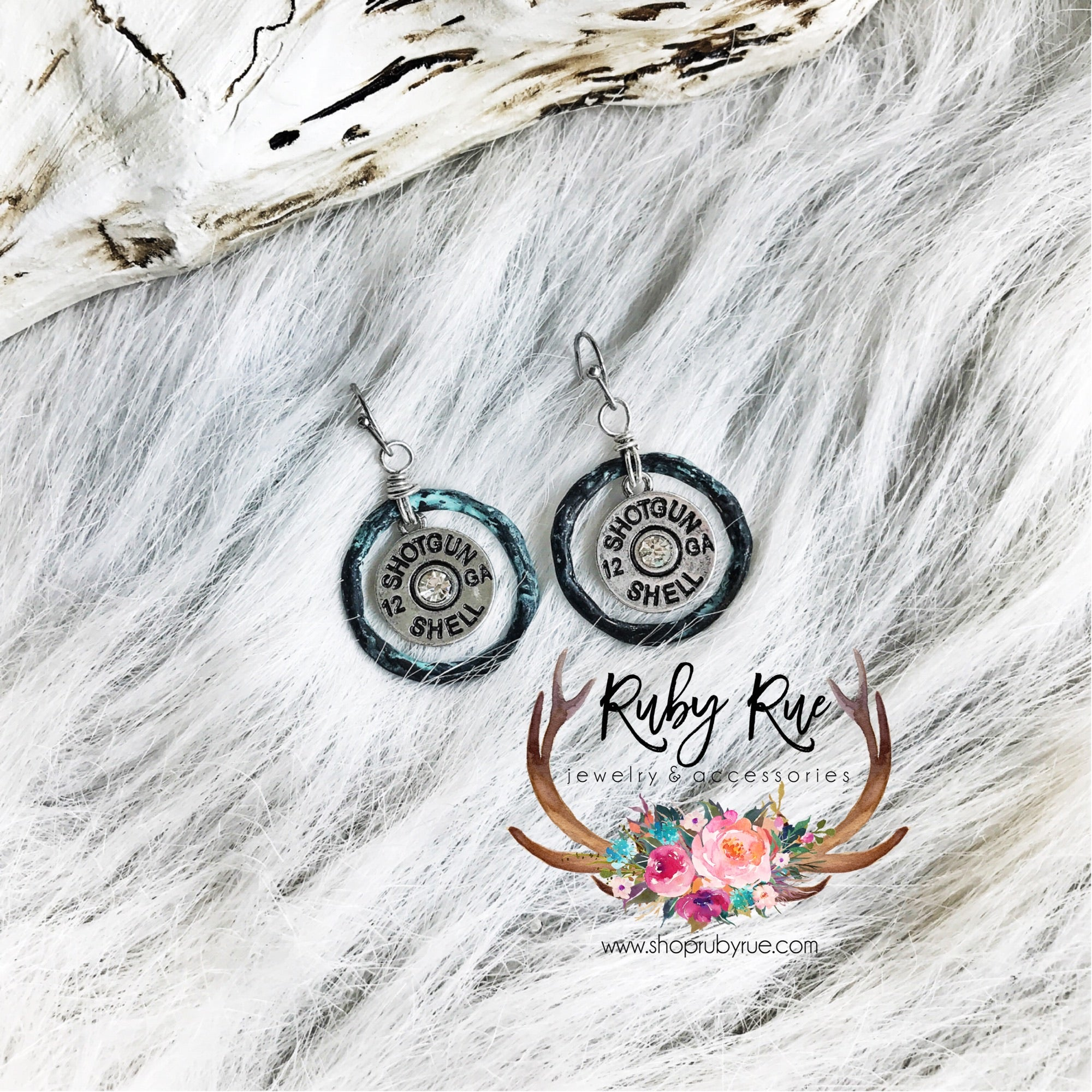 Bullet Dangle Earrings - Ruby Rue Jewelry & Accessories