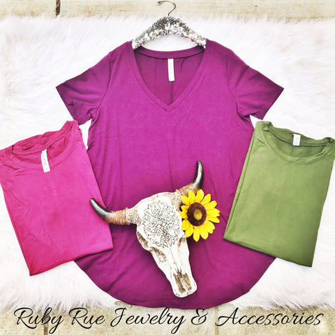 Basic Tee - Ruby Rue Jewelry & Accessories