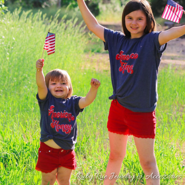 American Honey Mini Tee - Ruby Rue Jewelry & Accessories
