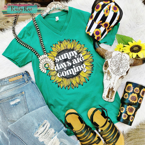 Sunny Days Are Coming Tee