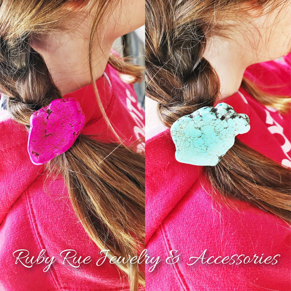 Slab Hair Ties - Ruby Rue Jewelry & Accessories