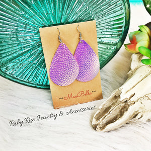 Unicorn Canvas Earrings - Ruby Rue Jewelry & Accessories