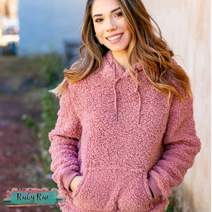 The Charlee Sherpa Pullover - Ruby Rue Jewelry & Accessories