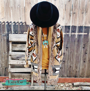 The Mazie Aztec Cardigan