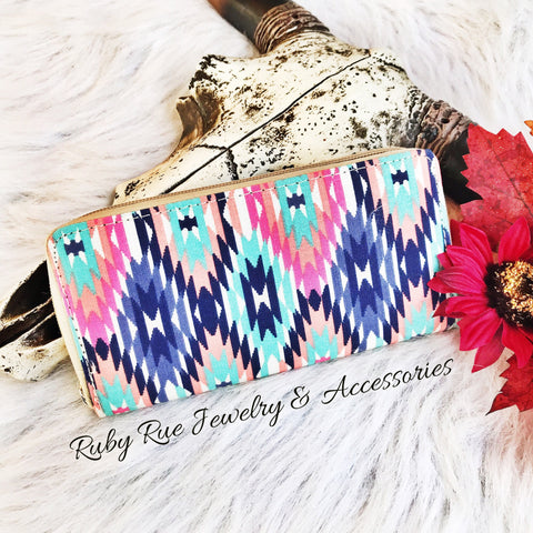 Aztec Wallet - Ruby Rue Jewelry & Accessories