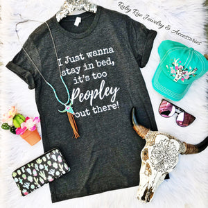 Too Peopley Tee - Ruby Rue Jewelry & Accessories