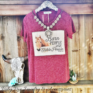 Barn People Tee - Ruby Rue Jewelry & Accessories