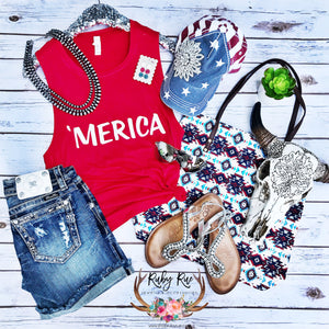 'Mercia Tank - Ruby Rue Jewelry & Accessories