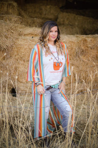 Hacienda Duster - Ruby Rue Jewelry & Accessories