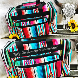 Serape Duffle Bag - Ruby Rue Jewelry & Accessories