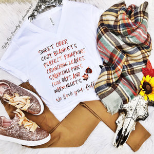 We Love You Fall Tee - Ruby Rue Jewelry & Accessories