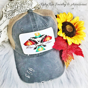Aztec Thunderbird Snapback - Ruby Rue Jewelry & Accessories