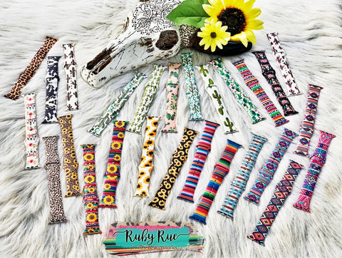 Western Print Apple Watch Bands - Ruby Rue Jewelry & Accessories