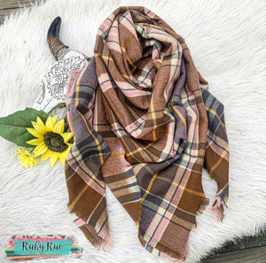 Autumn Days Blanket Scarf
