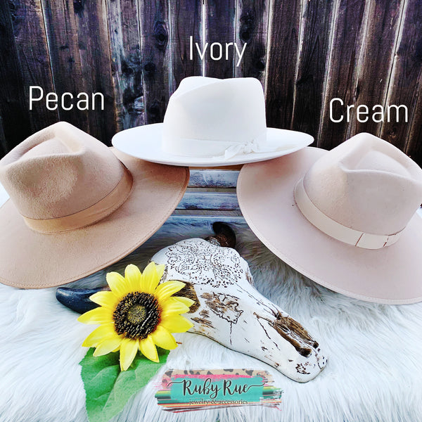 'Ol Dixie Western Hat - Ruby Rue Jewelry & Accessories