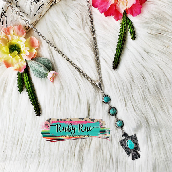 Thunderbird Necklace - Ruby Rue Jewelry & Accessories