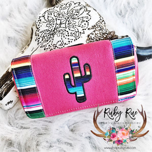 Cactus Serape Wallet - Ruby Rue Jewelry & Accessories
