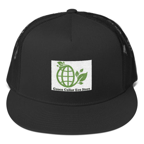 Green Collar Snapback Hat