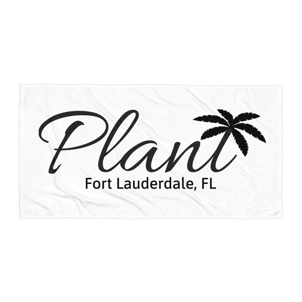 Local PlanT Beach Towel - Fort Lauderdale