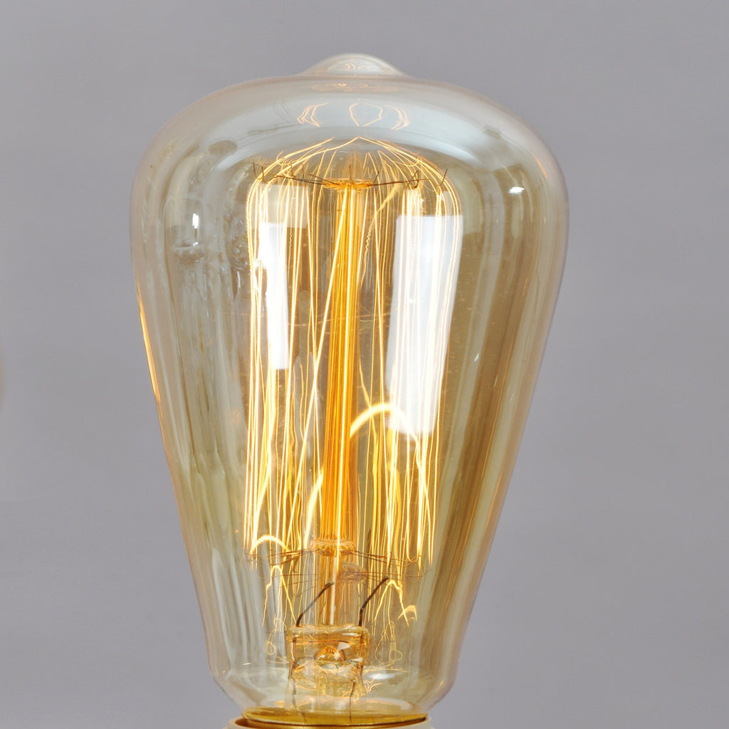 UNITARY BRAND Retro Style Edison Incandescent Bulb E26 Max 40W Set of 8 - unitarylighting
