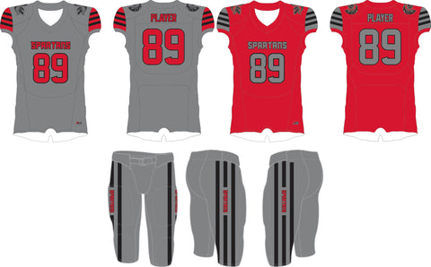 806 Spartans 2 Jersey Tackle Uniform