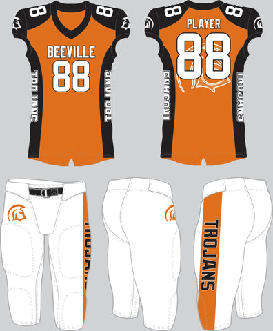 Beeville Trojans Tackle Uniform