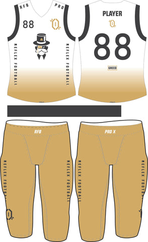 Greed Compression Flag Football Set