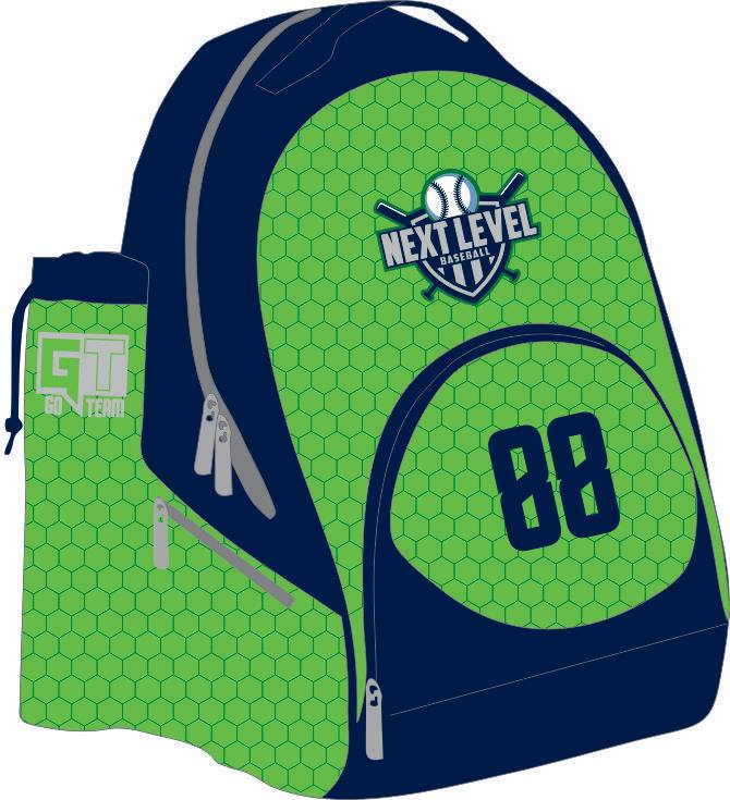 Next Level Baseball Backpack