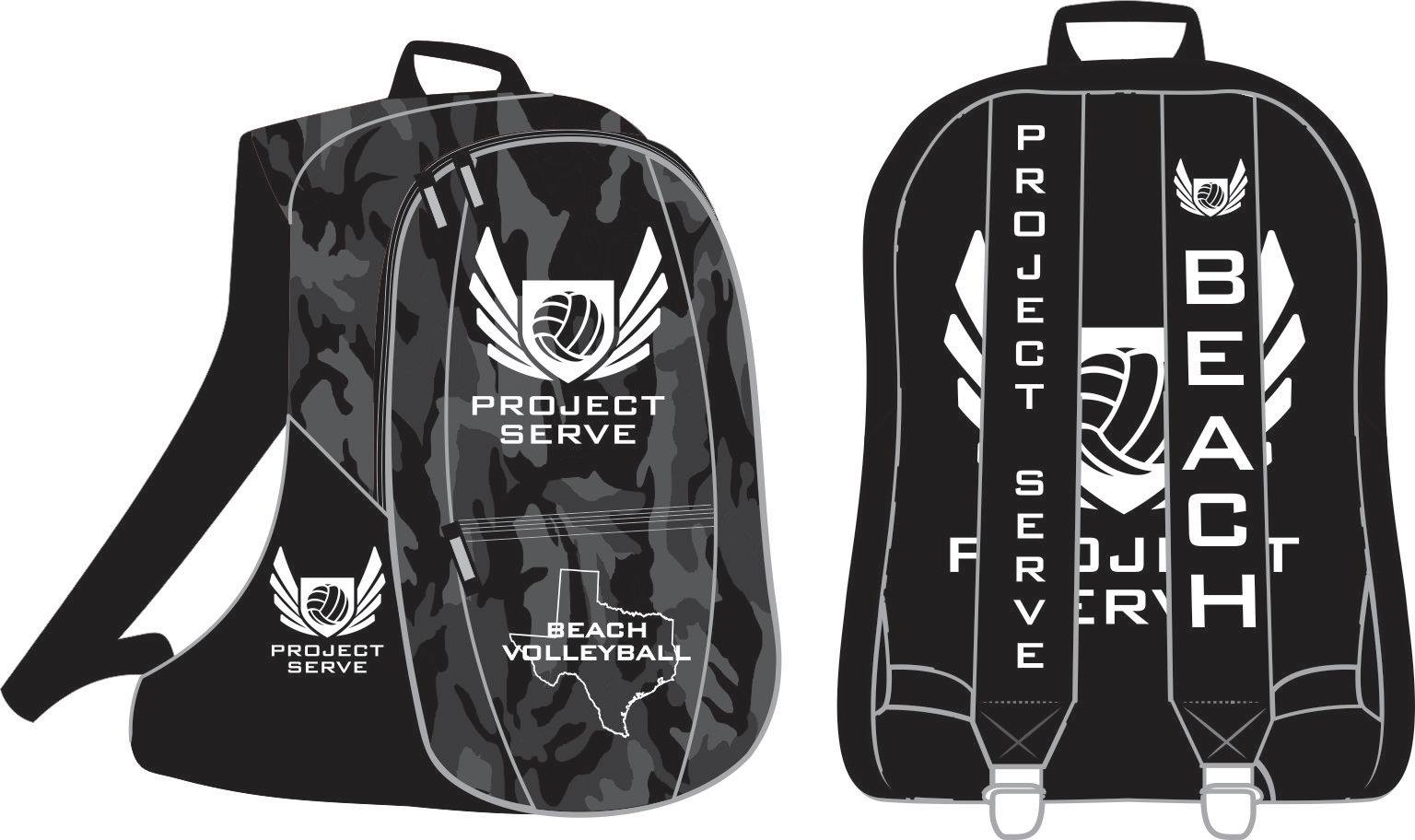 Project Serve Backpack