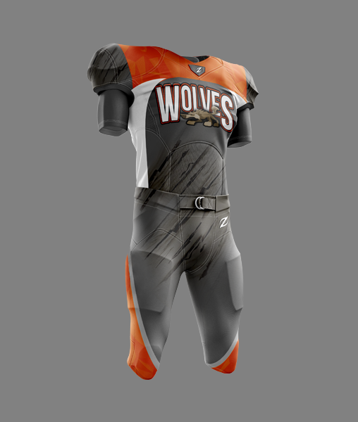 Tackle Football Uniform - WOLVES
