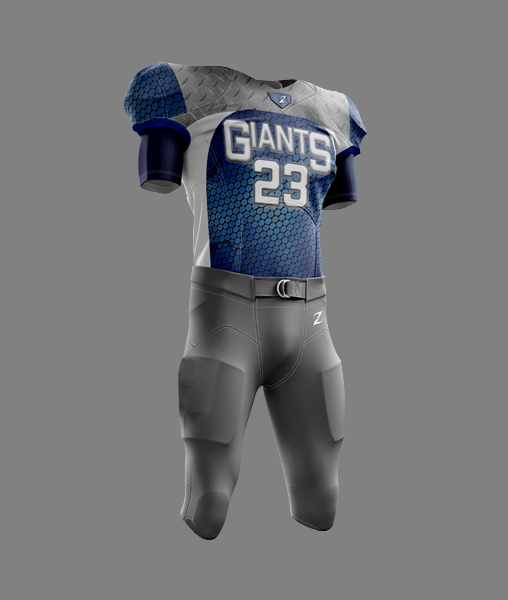Football Uniform - Giants