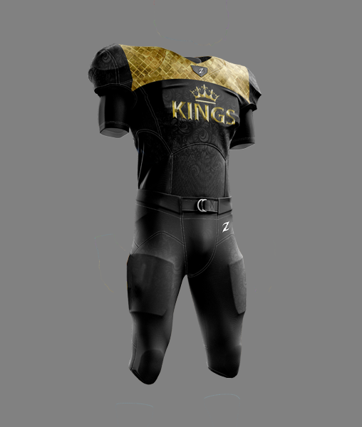 Tackle Football Uniform - KINGS