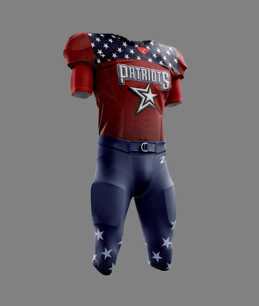 Tackle Football Uniform - PATRIOTS