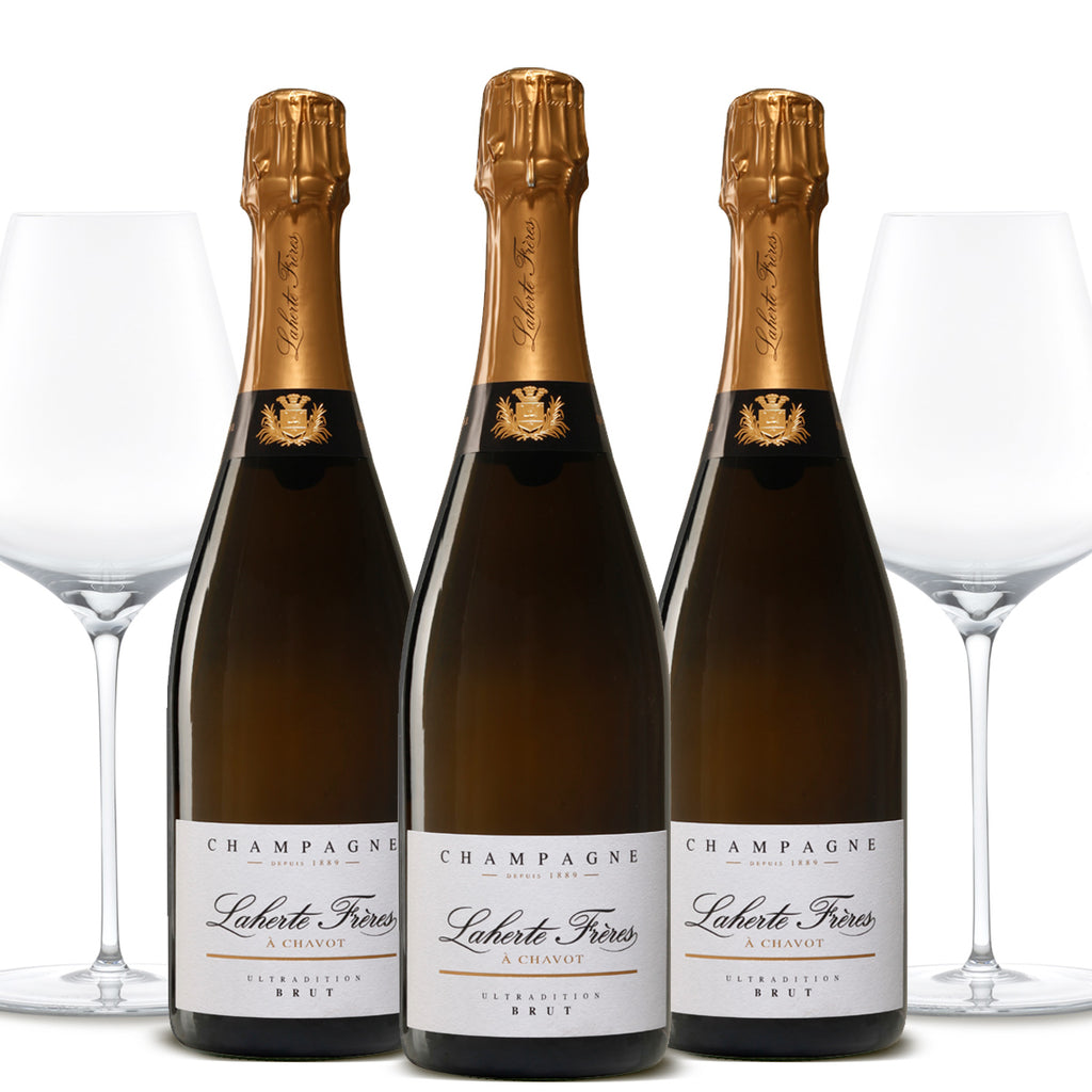 Simply-Wines-LAHERTE-FRÈRES-Champagne-Ultradition-NV-Grassl-Glass-Mineralite-Pack-Australia