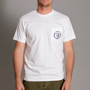 Bixby Pocket Tee in White