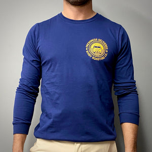 Navy Long Sleeve Bixby Tee
