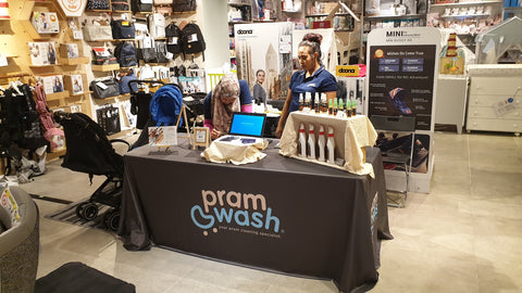 PramWash at Motherswork Great World City