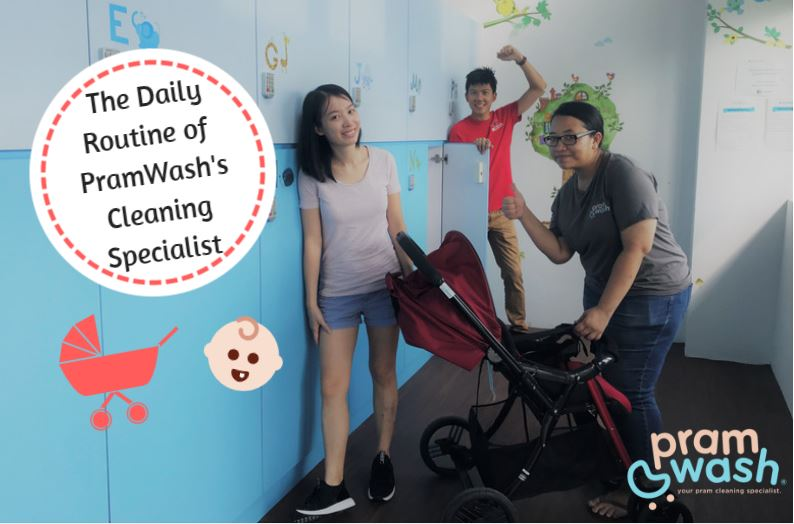 Here's What Goes On Behind The Scenes Before You Receive Your Sparkling Clean Stroller