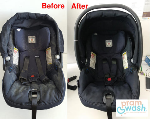 What to Do When Your Stroller or Car Seat Has Been Attacked by Mould