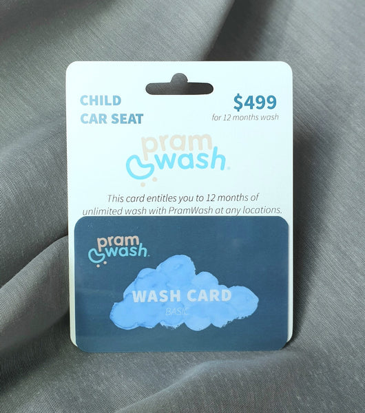 PramWash Wash Card